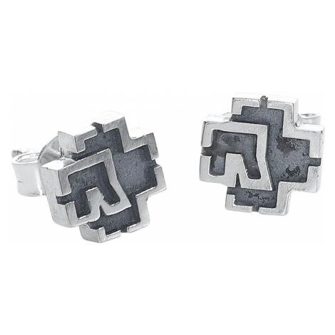 Rammstein Rammstein Logo Earring Set silver coloured