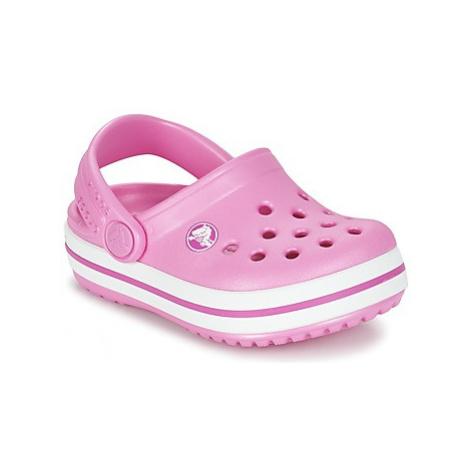 Crocs Crocband Clog Kids girls's Children's Clogs (Shoes) in Pink