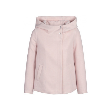 Only ONLMADDIE women's Coat in Pink