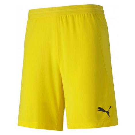 Puma TEAM FINAL 21 KNIT SHORTS TEAM yellow - Men's shorts