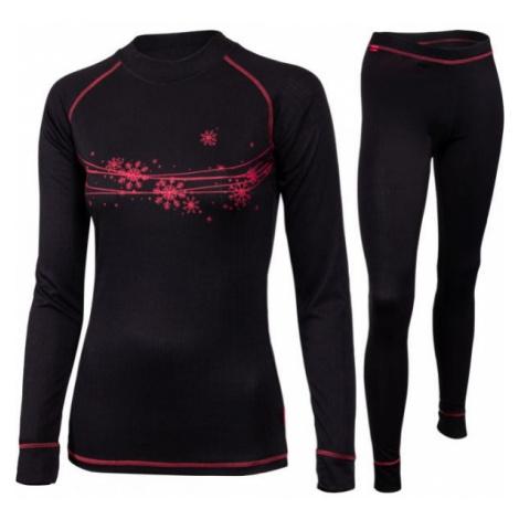 Klimatex PEROSA black - Women's functional undergarment set