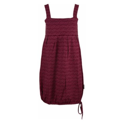 ALPINE PRO FAUNIA red wine - Women's dress