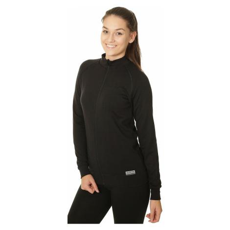 sweatshirt Lasting Moly Zip - 9099/Black - women´s