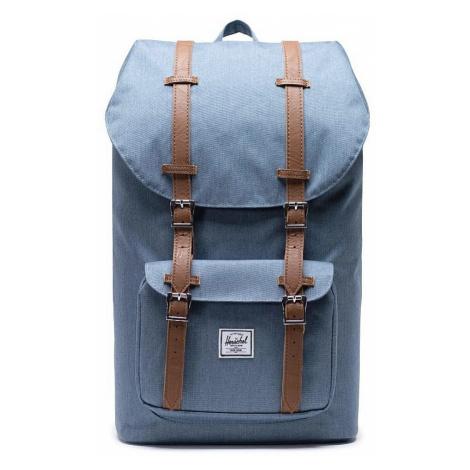 backpack Herschel Little America - Blue Mirage Crosshatch