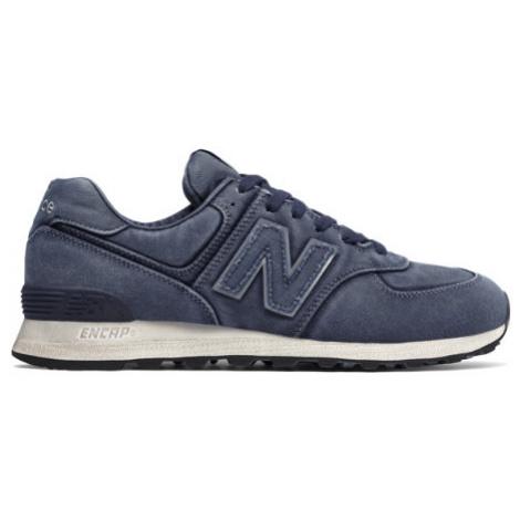 New Balance 574 Shoes - Navy/Sea Salt