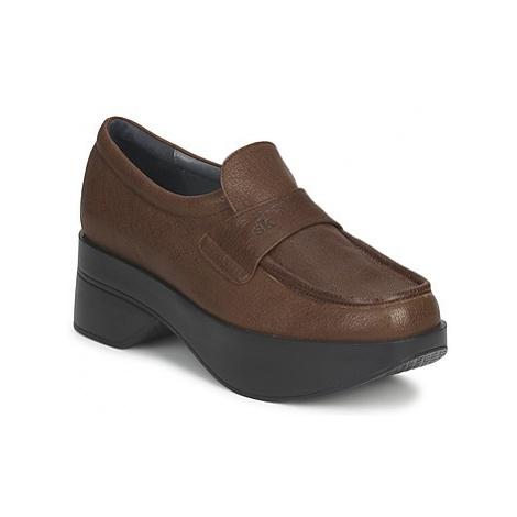 Stéphane Kelian EVA women's Loafers / Casual Shoes in Brown