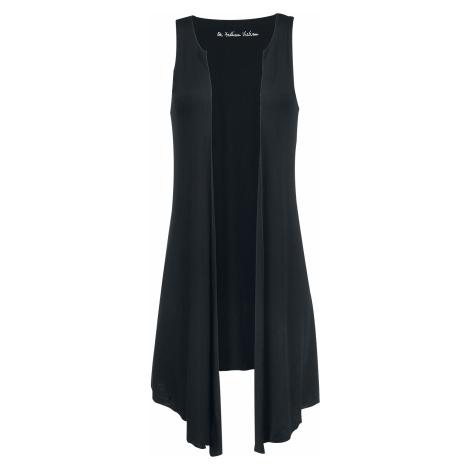 Forplay - Long Vest - Girls Vest - black