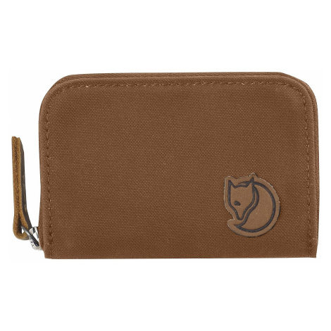 case Fjällräven Zip Card Holder - 230/Chestnut