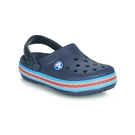 Crocs CROCBAND SPORT CORD CLOG K girls's Children's Clogs (Shoes) in Blue
