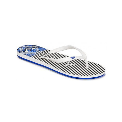 Roxy TAHITI VI J SNDL WNY women's Flip flops / Sandals (Shoes) in White