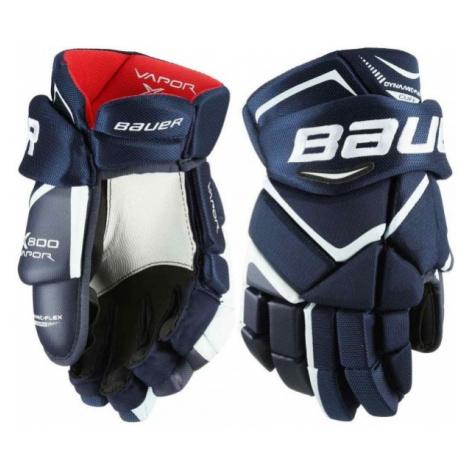 Bauer VAPOR X800 JR dark blue - Children's hockey gloves