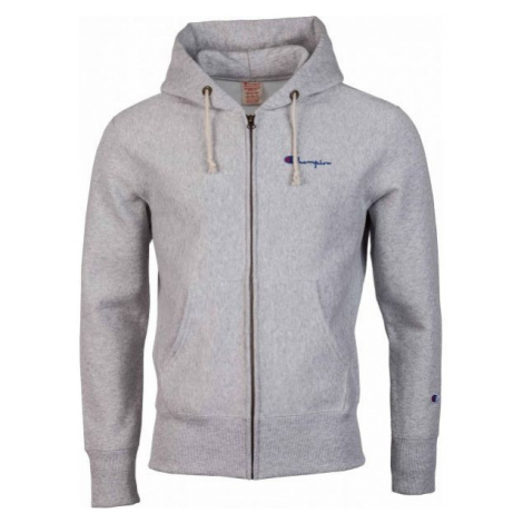 Champion HOODED FULL ZIP SWE grey - Men's sweatshirt