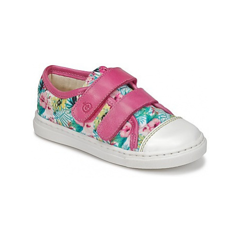 Citrouille et Compagnie INACUFI girls's Children's Shoes (Trainers) in Pink