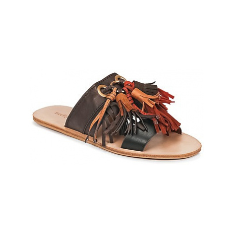 See by Chloé SB30101 women's Mules / Casual Shoes in Brown