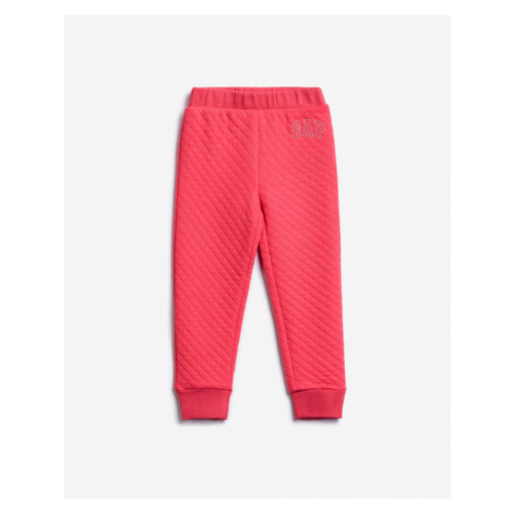 Pink girls' trousers and jeans
