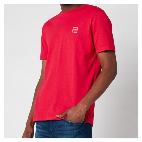 BOSS Casual Men's Tales T-Shirt - Medium Pink Hugo Boss