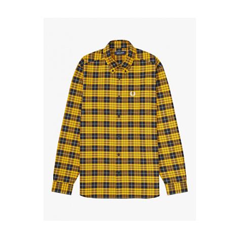 Fred Perry Regular Fit Tartan Shirt, C 799