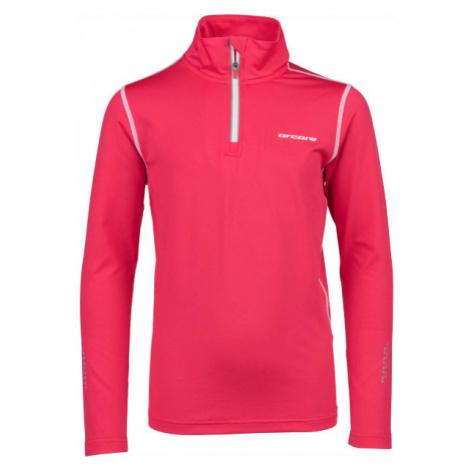 Arcore FULLA pink - Children's running sweatshirt
