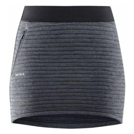 Devold TINDEN SPACER WOMAN SKIRT black - Women's functional skirt