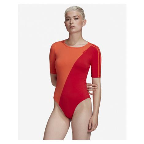 adidas Originals Adicolor Sliced Trefoil Body Red Orange