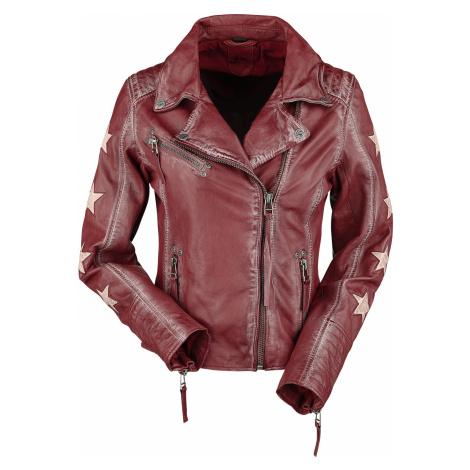 Gipsy - Cady Latrev - Girls leather jacket - red