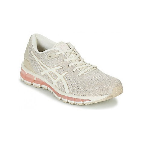 Asics GEL-QUANTUM 360 KNIT 2 women's Running Trainers in Beige