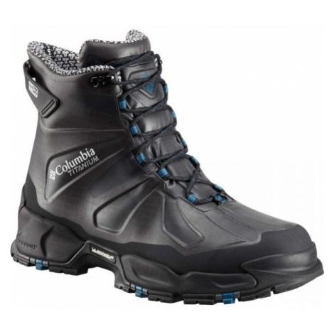 Columbia CANUK TITANIUM OH 3D OD EX black - Men's outdoor shoes