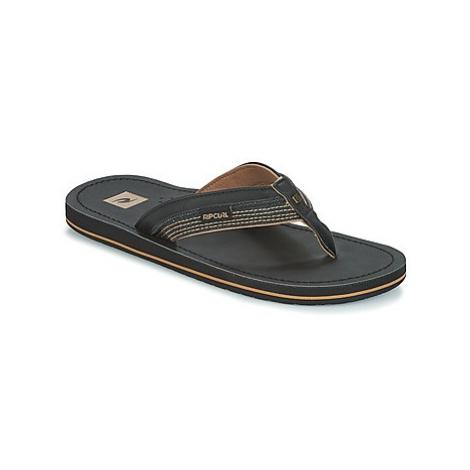 Rip Curl OX men's Flip flops / Sandals (Shoes) in Black
