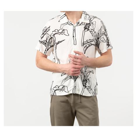 Stüssy Banana Tree Shortsleeve Shirt Off White Stussy