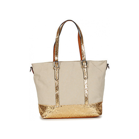 Moony Mood LOMINO women's Shopper bag in Beige