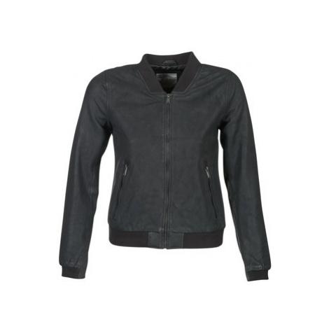 Esprit MARDO women's Leather jacket in Black