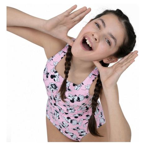 Kids Junior Minnie Mouse Medalist Swimsuit Speedo