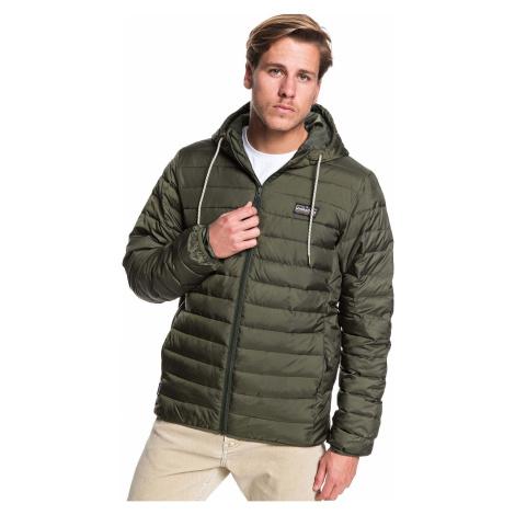 jacket Quiksilver Scaly Hood - CZC0/Deep Depths - men´s