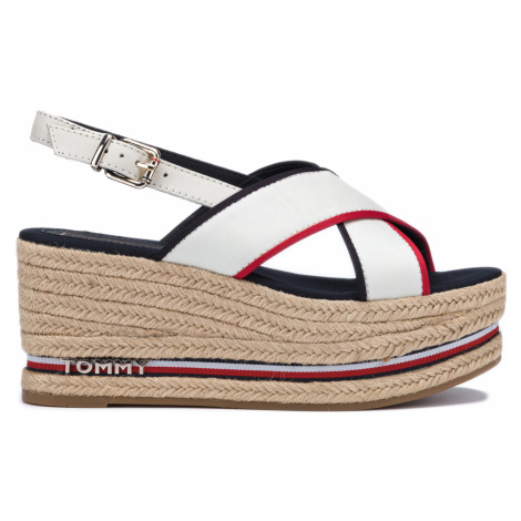 Tommy Hilfiger Wedges White