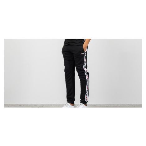 FILA Tadeo Tape Sweat Pants Black