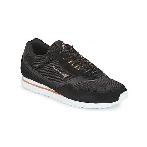 Le Coq Sportif LOUISE-METALLIC women's Shoes (Trainers) in Black
