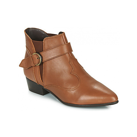 Betty London LYDWINE women's Mid Boots in Brown