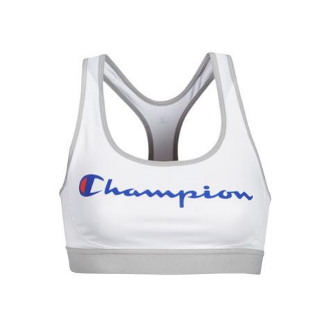 Champion CROP TOP LOGO CHAMPION women's in White