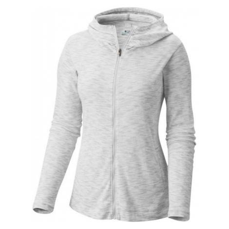Columbia OUTERSPACED FULL ZIP HOODIE gray - Women's outdoor sweatshirt