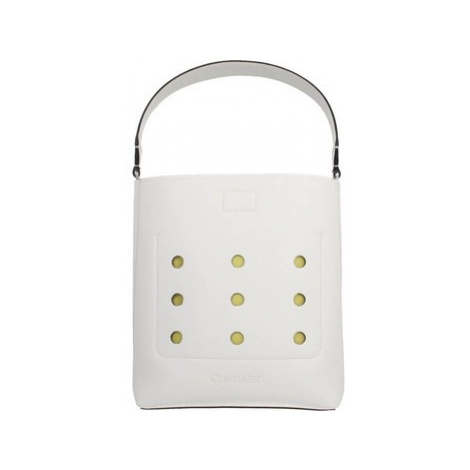Calvin Klein Jeans VENTBUCKET women's Shopper bag in White