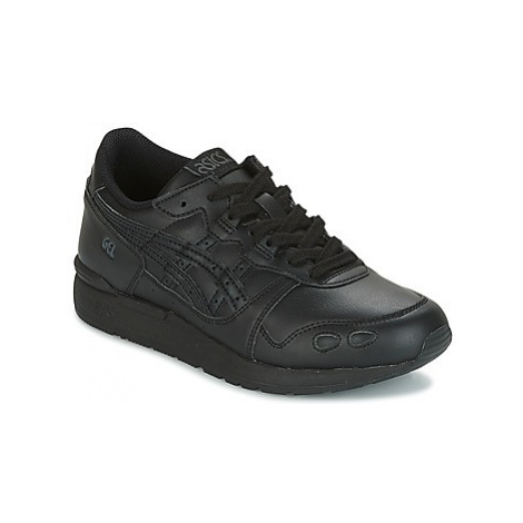 Asics GEL-LYTE GS girls's Children's Shoes (Trainers) in Black