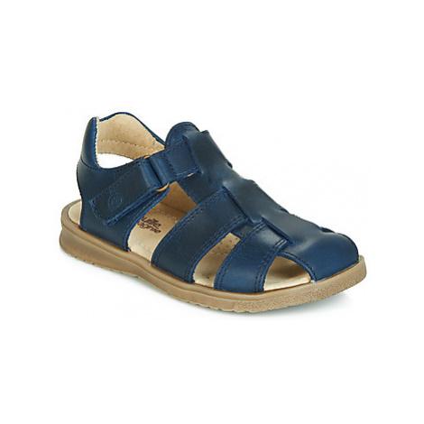 Citrouille et Compagnie JALIDOU boys's Children's Sandals in Blue