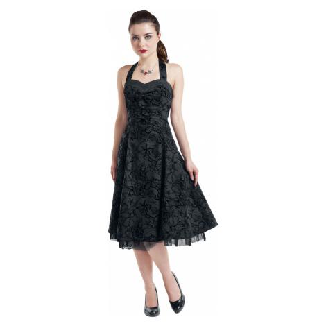 H&R London - Long Tattoo Dress - Dress - black
