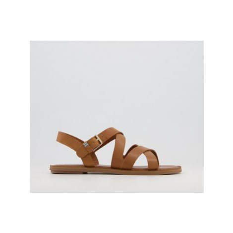 TOMS Sicily Sandals TAN LEATHER