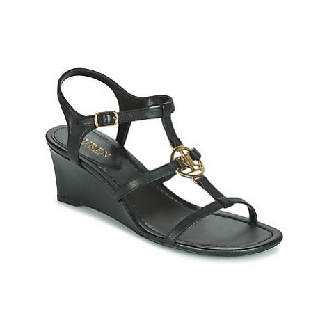 Lauren Ralph Lauren ELINA women's Sandals in Black