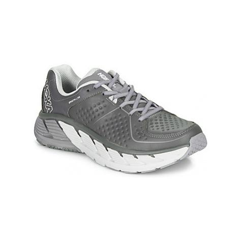 Hoka one one M GAVIOTA LTR men's Running Trainers in Grey