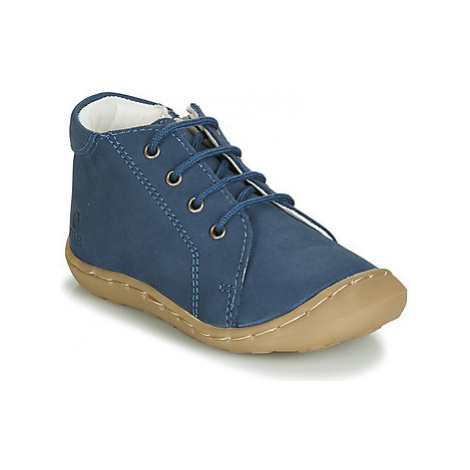 GBB FREDDO boys's Children's Shoes (High-top Trainers) in Blue