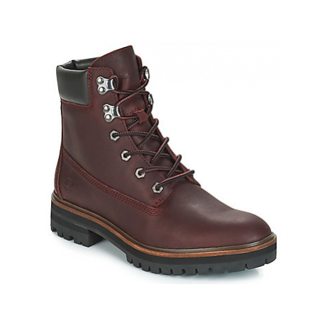 Timberland London Square 6in Boot women's Mid Boots in Bordeaux