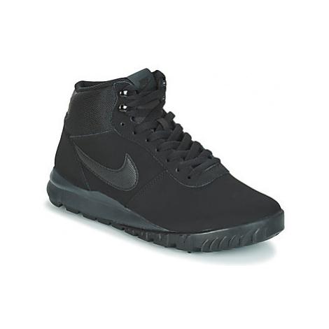 Nike HOODLAND SUEDE men's Mid Boots in Black