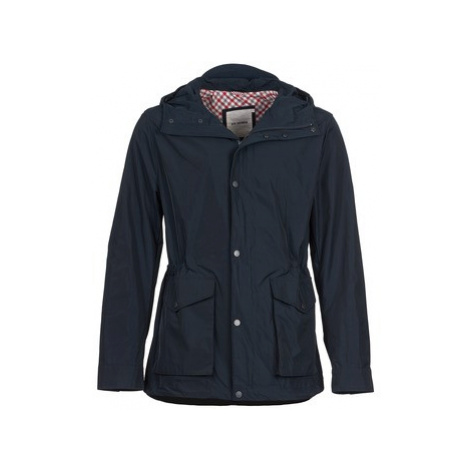 Ben Sherman MEMORY CAGOULE men's Jacket in Blue